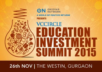 Explore prospects of ed-tech services @ VCCircle Education Investment Summit 2015