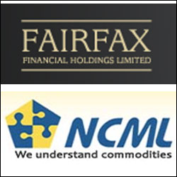 Fairfax India to buy 74% stake in agri-warehousing firm National Collateral for $125M
