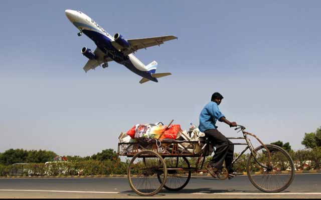 IndiGo flies on stock market take-off