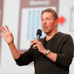 Larry Ellison stepping down as Oracle CEO but not hanging up his boots yet