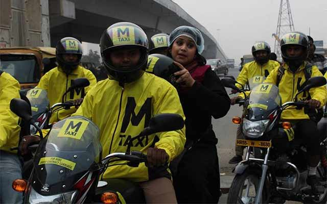 M-Taxi gets angel funding for bike ride-hailing play