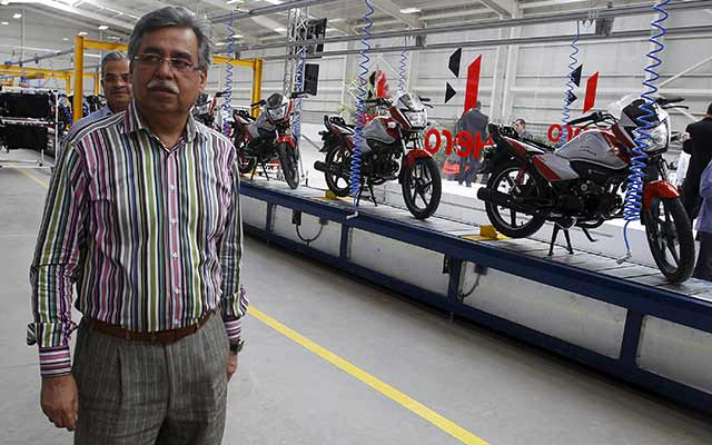 Bain exits Hero MotoCorp, sells 1.5% for $115M