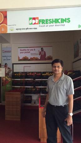 Fresh veggie & fruit retailer Freshkins targets Rs 150Cr turnover by 2016