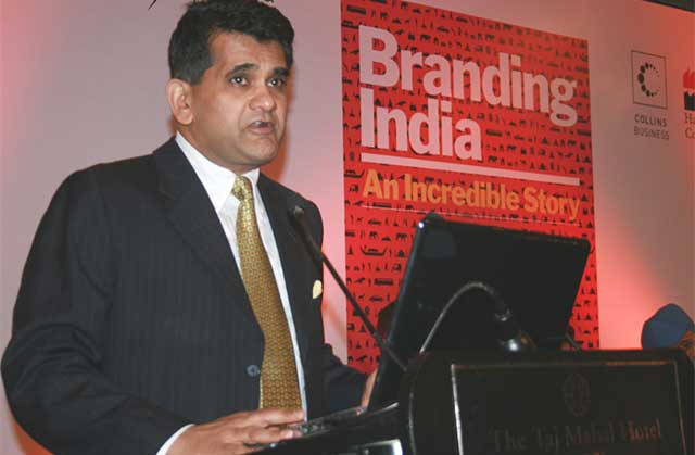 Amitabh Kant named NITI Aayog CEO