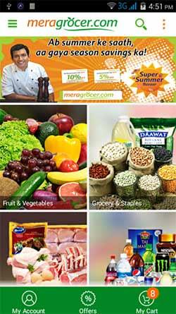 Spencer's buys online supermarket Meragrocer