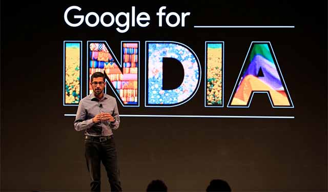 First hire outside US for Google Capital will be in India: Sundar Pichai