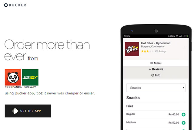 Super aggregator app Bucker gets funds from 50K Ventures, others