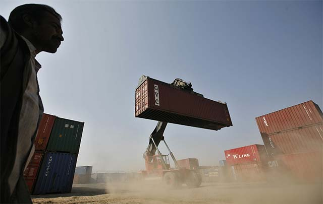Exports fall for 13th month in December