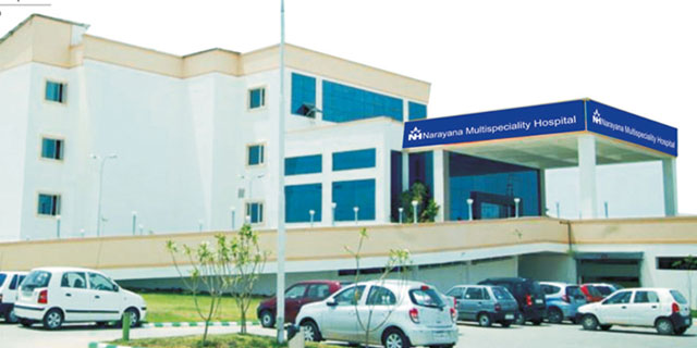 Narayana Health shares shoot up in market debut
