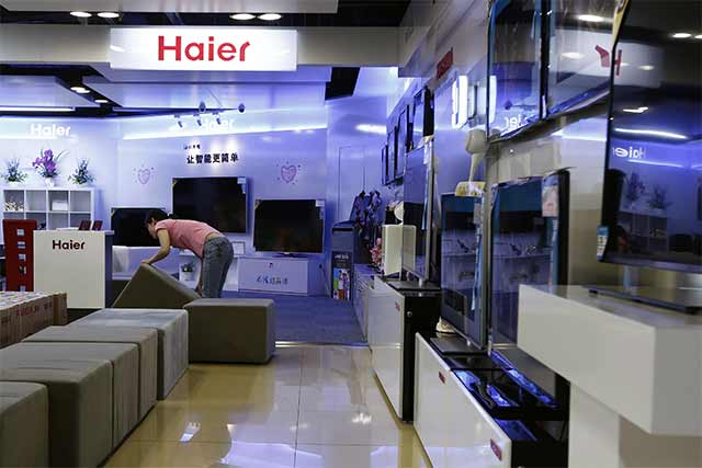Haier to buy GE's appliances business for $5.4B