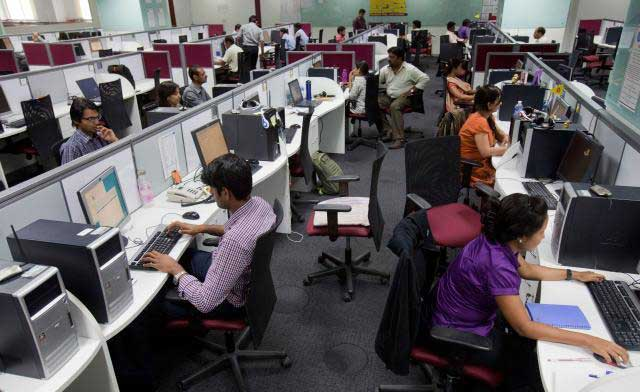 India services activity rises to 10-month high in December