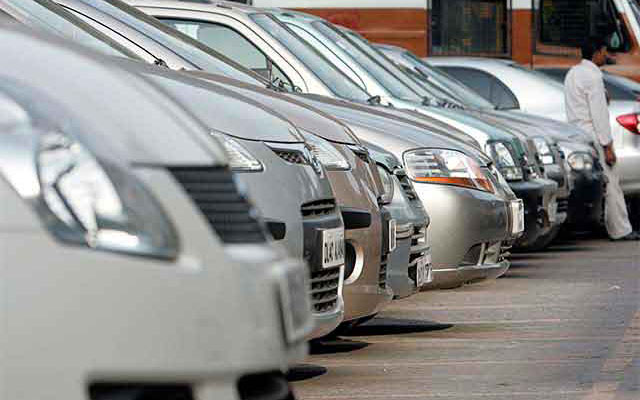 Car sales drop after 14 months of growth