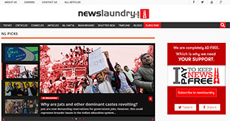 Digital media startup Newslaundry gets funding from Omidyar, others