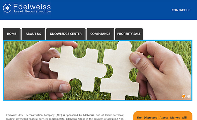 Edelweiss ARC to raise around $300M to buy stressed assets