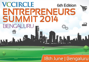 Launching latest edition of VCCircle Entrepreneurs Summit 2014 – Bengaluru; block your calendar now