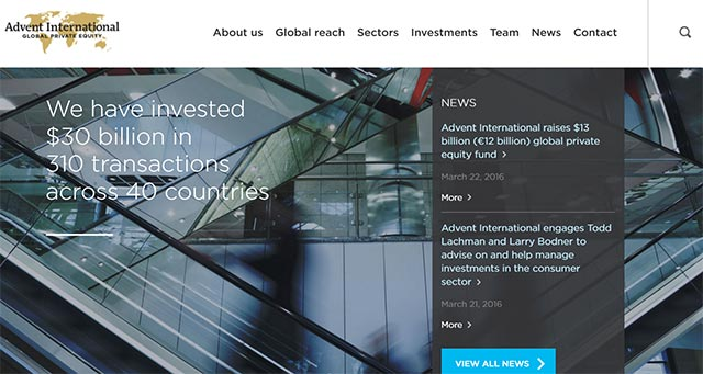 Advent International raises $13B for new buyout fund