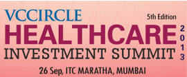 Recognising best healthcare companies In India; apply for VCCircle Healthcare Awards 2013