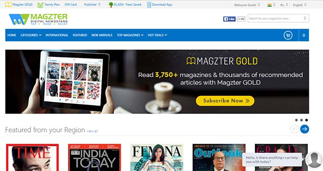 Digital magazine startup Magzter in talks to raise Series C funding