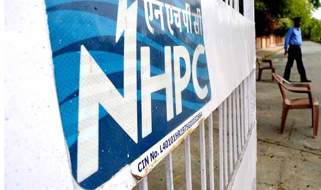 NHPC share sale covered 1.5 times