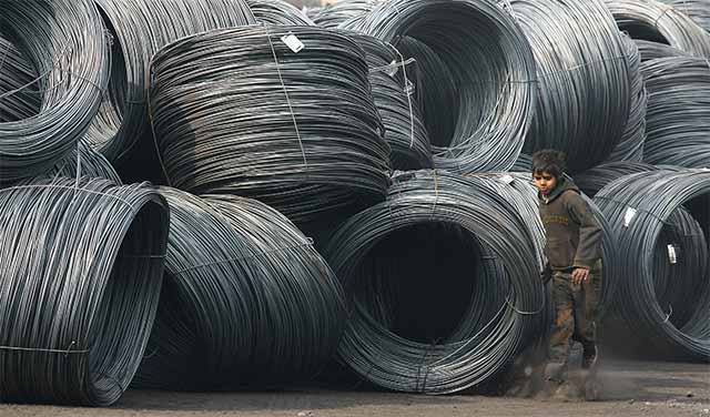India to review steel's minimum import price next week