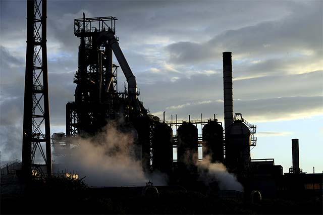 UK government says ready to buy 25% in Tata Steel plants