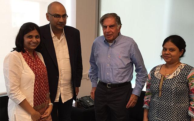Ratan Tata backs emergency response app MUrgency
