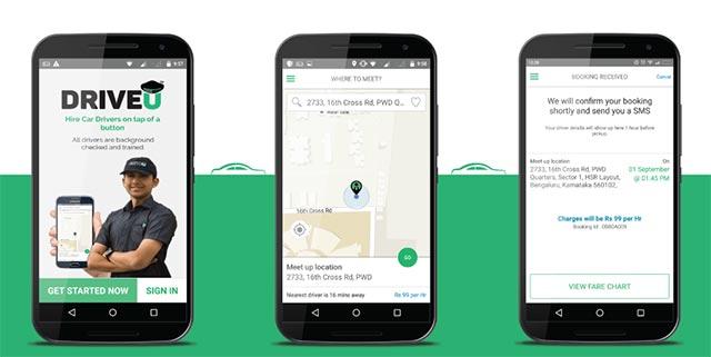On-demand chauffeur provider DriveU acquires CallAtHome to ride into Gurgaon