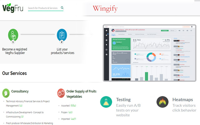 SaaS analytics firm Wingify backs B2B marketplace VegFru