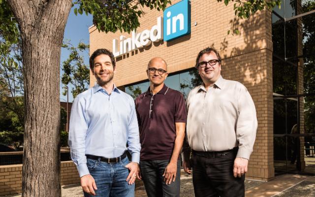 Microsoft to acquire LinkedIn for $26.2 bn