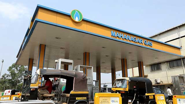 Mahanagar Gas jumps on stock market debut