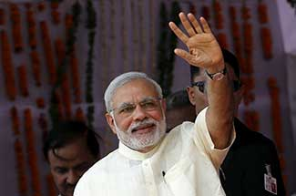Modi inducts 19 ministers, drops five in cabinet reshuffle