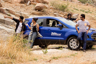 Ford leads $24 mn investment in self-drive car rental startup Zoomcar