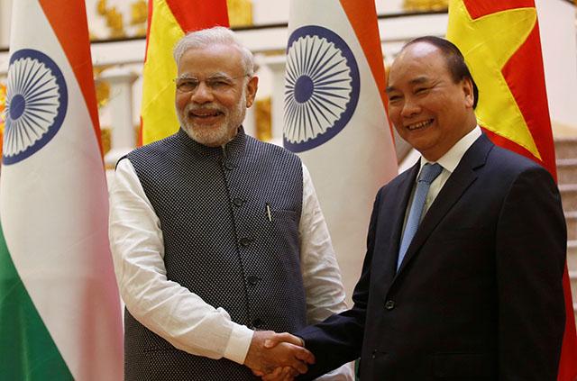 India, Vietnam sign 12 agreements