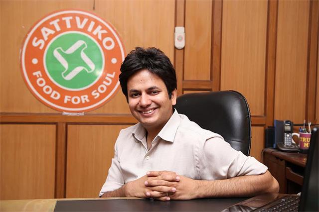 Quatrro's Raman Roy, other angels back restaurant chain Sattviko