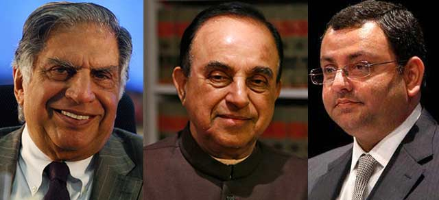 Cyrus Mistry row: Subramanian Swamy emerges as Ratan Tata's new adversary