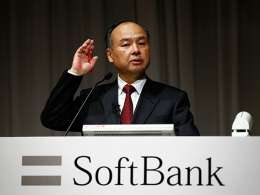SoftBank's Son on being a crazy guy and betting on the future