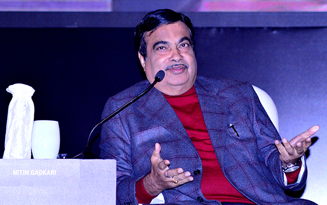 Road construction up from 2km/day to 28km/day since BJP govt took over: Nitin Gadkari