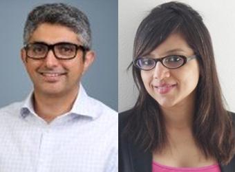 L to R: Amit Malik and Shefali Batra, Founders, InnerHour