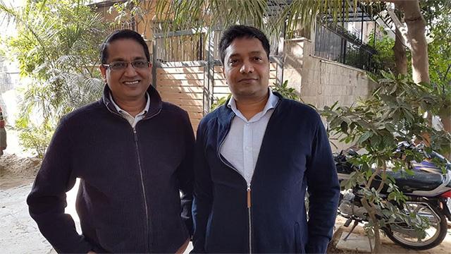 Biryani By Kilo co-founders Kaushik Roy and Vishal Jindal