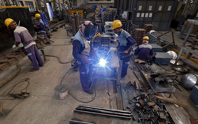India factory output grows slightly in January after December contraction