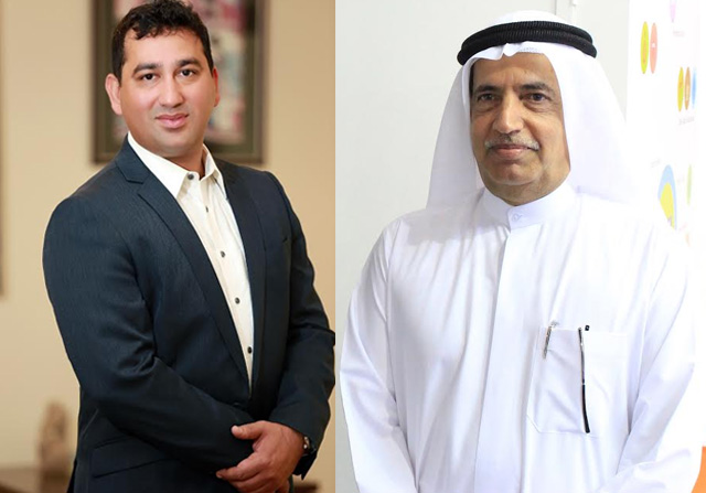 L to R: Niranj Sangal, group CEO and Omran Sultan Abdullah Al Owais, Chariman, OMA Emirates Group