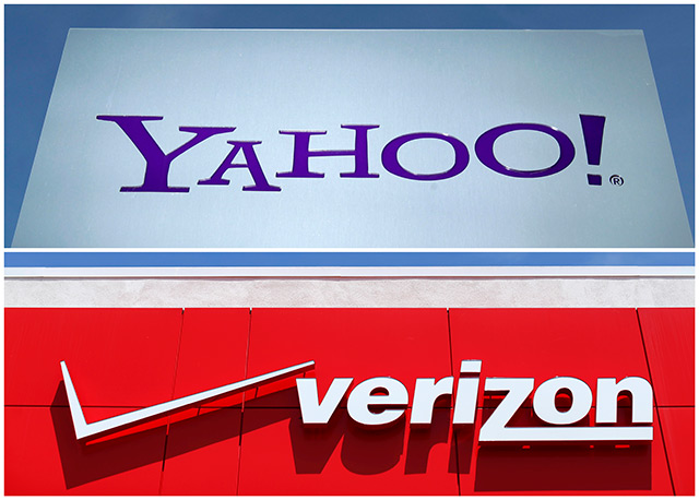 Verizon, Yahoo cut deal price to $4.48 bn