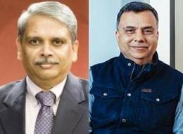 L to R: Kris Gopalakrishnan, Chairman, Axilor Ventures and Sudhir Sethi, Chairman, IDG Ventures India
