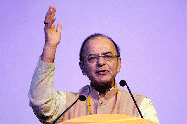 Finance minister Arun Jaitley takes charge of defence ministry