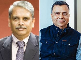 L to R: Kris Gopalakrishnan, Chairman, Axilor Ventures and Sudhir Sethi, Chairman, IDG Ventures India