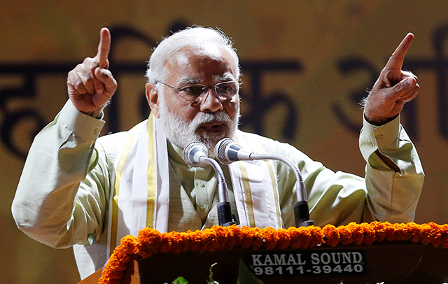 Stocks, rupee jump on PM Modi's win in state elections