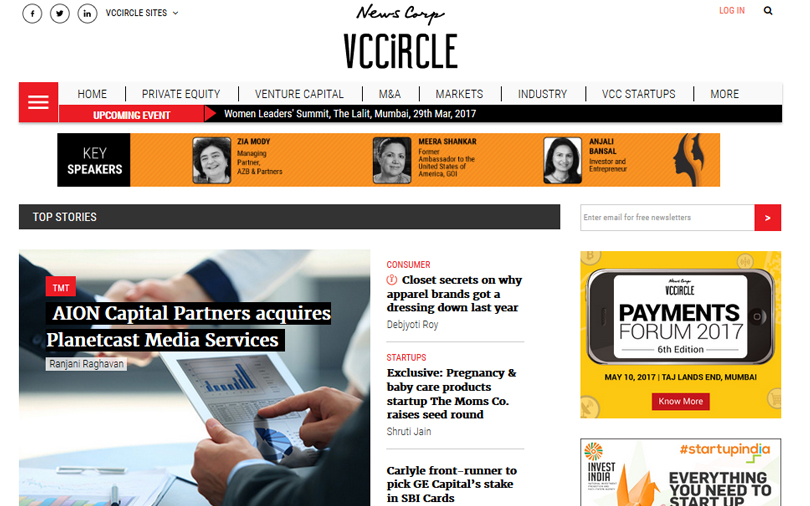 Take a dive into the new VCCircle.com