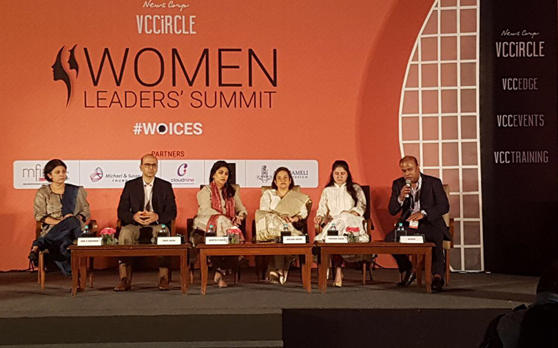 Women need to show intent to break glass ceiling: Panellists at VCCircle summit