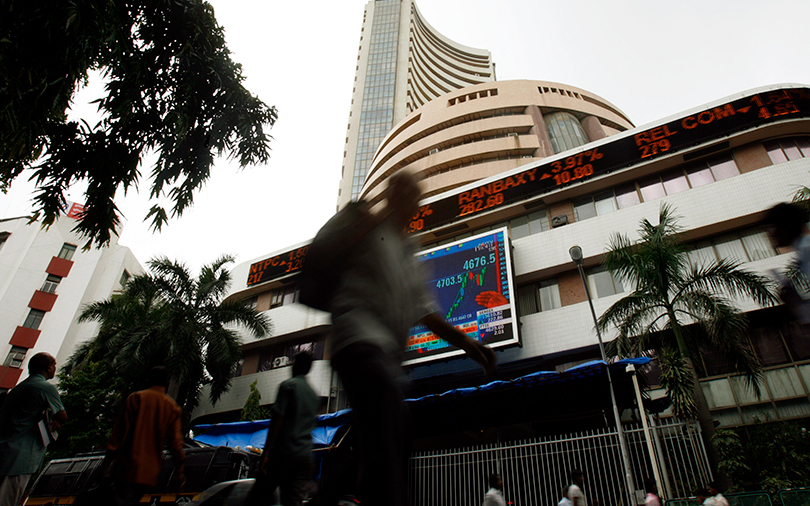 Sensex ends week at highest level since early February