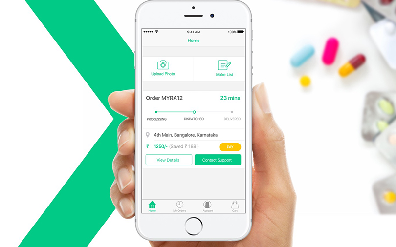 Matrix Partners and Times Internet back pharmacy app Myra Medicines